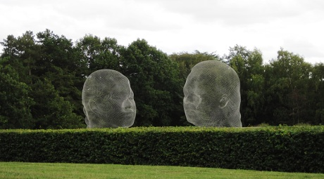 Jaume Plensa: Irma-Nuria, 2010 (Yorkshire Sculpture Park, August 2011)